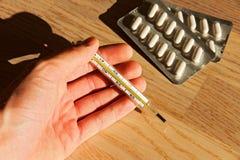 Медицинский термометр Стоковые Фото