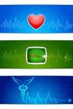 Медицинское знамя Стоковое Изображение