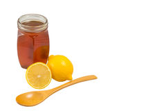 Мед и лимон Стоковое Фото