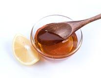 Мед и лимон Стоковое фото RF