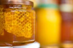 Мед и цветень Стоковое Фото
