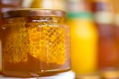 Мед и цветень Стоковые Изображения