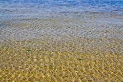 Мелководье реки Стоковая Фотография