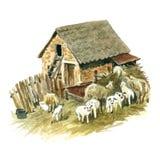 Мелкое крестьянское хозяйство Стоковая Фотография