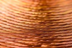 Медная катушка Стоковые Фотографии RF