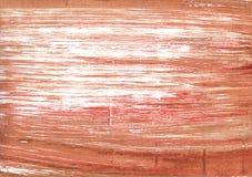 Медная красная абстрактная предпосылка акварели иллюстрация штока