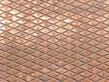 Медная поверхность стоковое изображение
