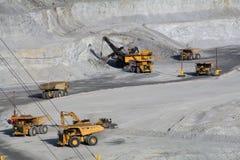 медная шахта s Юта kennecott Стоковое Изображение RF
