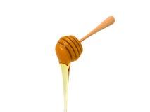 Мед на белой предпосылке иллюстрация вектора