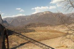 Рио Fuerte в медном каньоне Стоковое Изображение