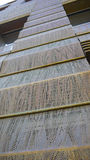 Медный фасад Стоковые Фотографии RF