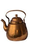 Медный чайник Стоковая Фотография