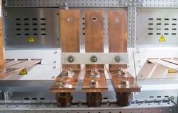 Медный шинопровод Стоковая Фотография