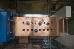 Медный шинопровод Стоковые Изображения RF