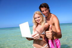 медовый месяц назначения повышая перемещение Стоковая Фотография