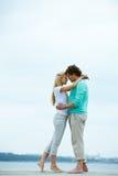 медовый месяц Стоковое фото RF