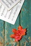 Мелодия осени Стоковое Изображение RF