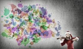 Мелодия приходить рождества Стоковая Фотография RF