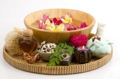 Мед смешивания мыла Moringa стоковые изображения rf