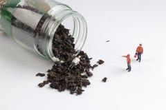 медсотрудники как игрушка вычисляют сторону чай сброса давления Стоковое Фото