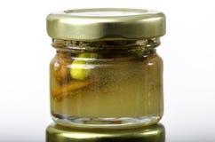 Мед с сухофруктом и гайками Стоковые Фотографии RF