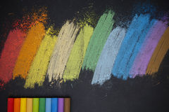 Мел цвета Стоковые Фото