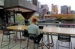 Мельбурн Southbank - Виктория Стоковая Фотография RF