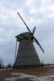 Мельница ветра в Беларуси Стоковое Изображение RF