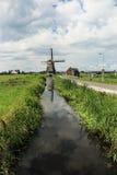 Мельница ветра в лете Амстердама Стоковое Фото