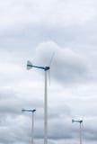 Мельница ветра природной энергии Стоковая Фотография