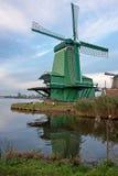 Мельница в Голландии Стоковое фото RF
