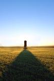 Мельница в доме поля Стоковое Изображение