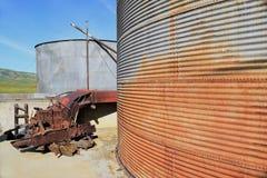 Мельница зерна с мотором Стоковая Фотография