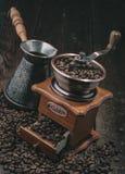 Мельница кофе ручки Стоковое Изображение