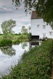 Мельница Cambridgeshire залежи Стоковое фото RF