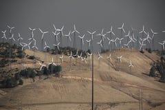 Мельницы ветра Стоковое Изображение RF