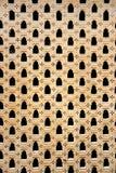 Мельчайшая работа Jali каменного окна стоковое фото rf