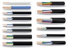медь кабеля Стоковое фото RF