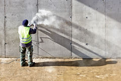 Меля стена Стоковые Фотографии RF
