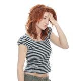 мигрень головной боли Стоковое Изображение RF