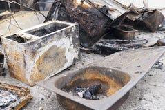 Микроволна после огня стоковые изображения rf