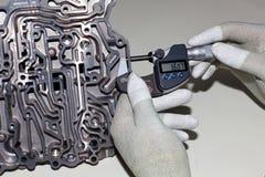 микрометр вне винта стоковые фотографии rf