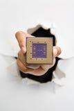 микропроцессорная техника прорыва Стоковое Фото