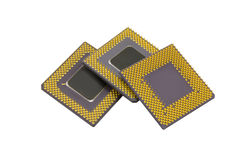 микропроцессоры Стоковая Фотография
