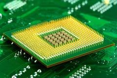 Микропроцессор стоковое фото rf