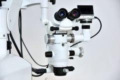 Микроскоп дантиста стоковые фотографии rf