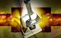микроскоп Стоковые Изображения RF