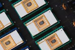 Микросхема памяти Стоковое фото RF