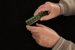 Микросхема памяти Стоковые Фотографии RF