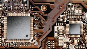 микросхемы цепи доски стоковое фото rf